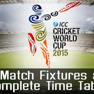 icc cricket world cup 2015 schedule