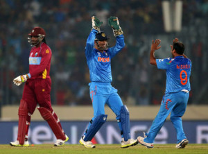India won its 28th Match Against West Indies by 4 Wickets -World Cup 2015