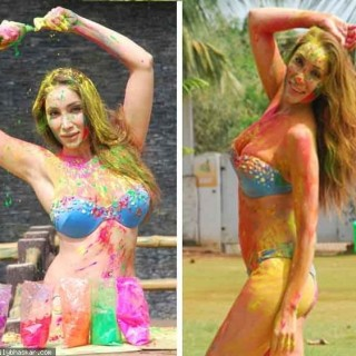 hot sofia hayat holi shoot