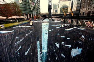 Unbelievable 3D Street Art Painting Which Will Make You Stun