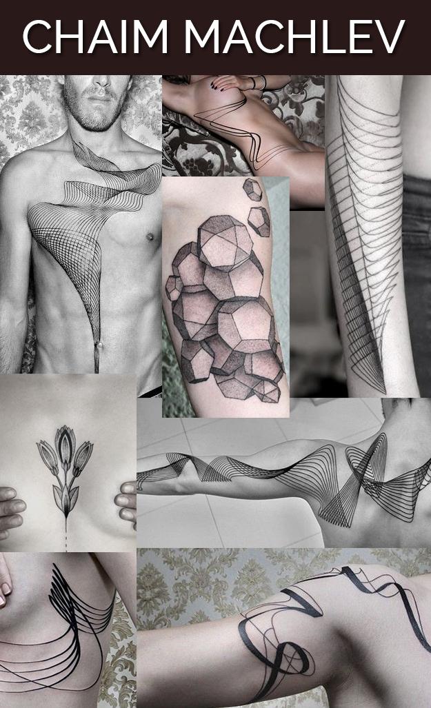 Chaim Machlev tattoo art