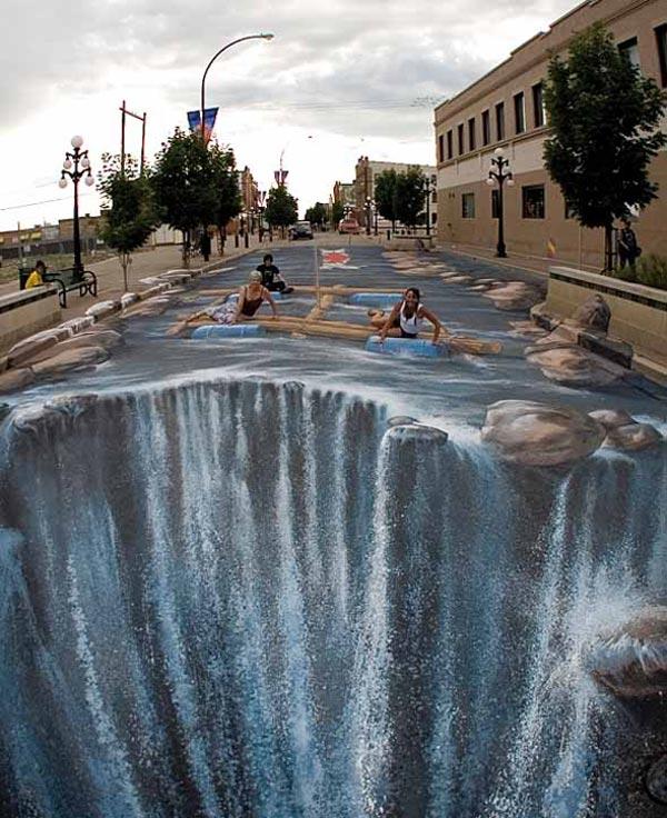 3d street art utopia