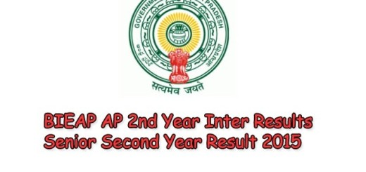 BIEAP AP 2nd Year Inter Results Senior Second Year Result 2015