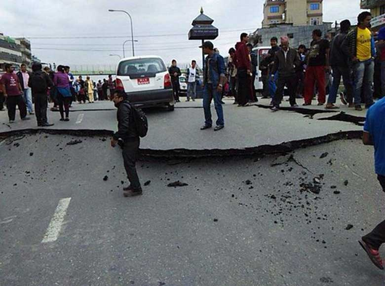 Major EarthQuake Waves Felt after 80 Years in Nepal local said!
