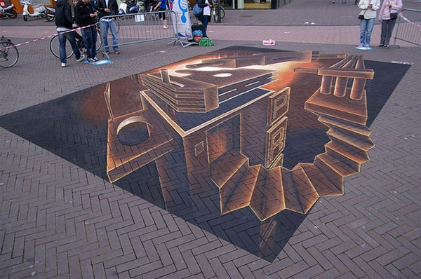 New-3D-Street-Art-Painting