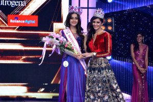 Gurgaon Based Aditi Arya Crowned fbb Femina Miss India 2015