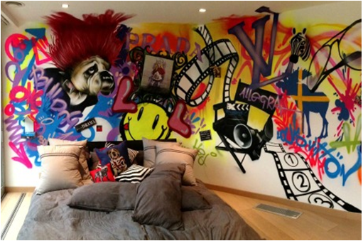 5 crazy things people do on their bedroom walls!