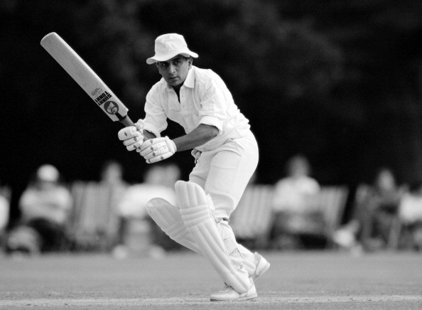Gavaskar batting