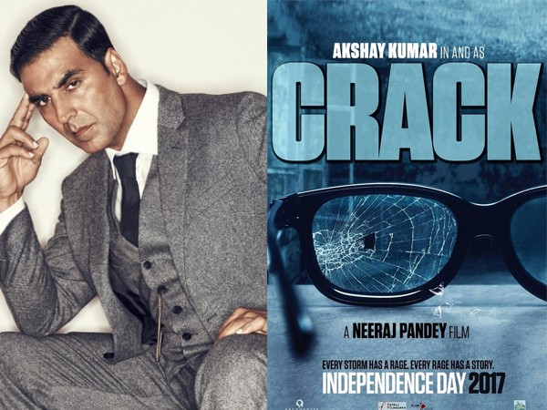 AKSHAY KUMAR IN & AS 'CRACK' UNVEILS FILM POSTER AND RELEASE DATE