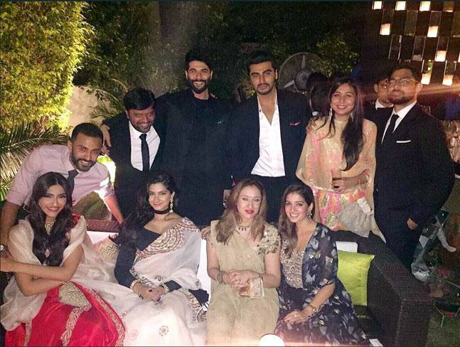 anand ahuja and sonam kapoor family