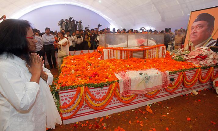 Bhupen Hazarika death image