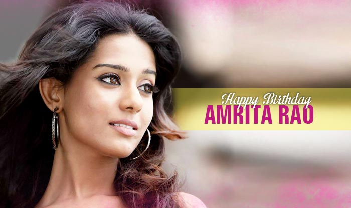 amrita rao birthday images