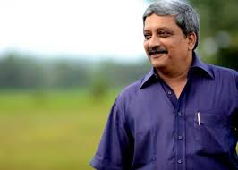 Manohar parrikar death images