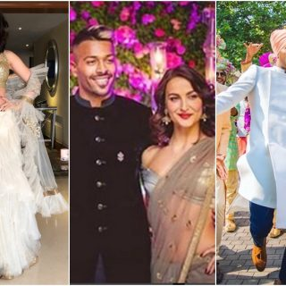 Elli Avram and Hardik Pandya images