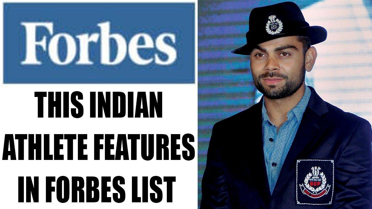 Virat Kohli among world's highest-paid athletes 2018