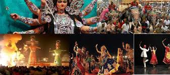 Dusshera or Dussehra Celebrations