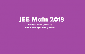 JEE Main 2018 Offline Paper was Held Today : Analysis, Answer Key Details Here