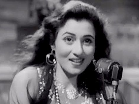 Madhubala Black and White Images
